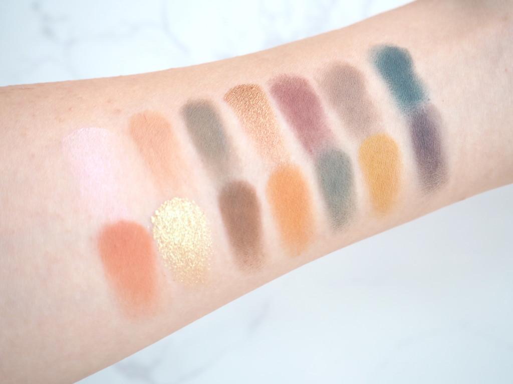 Anastasia Beverly Hills Subculture Eyeshadow Palette スウォッチ