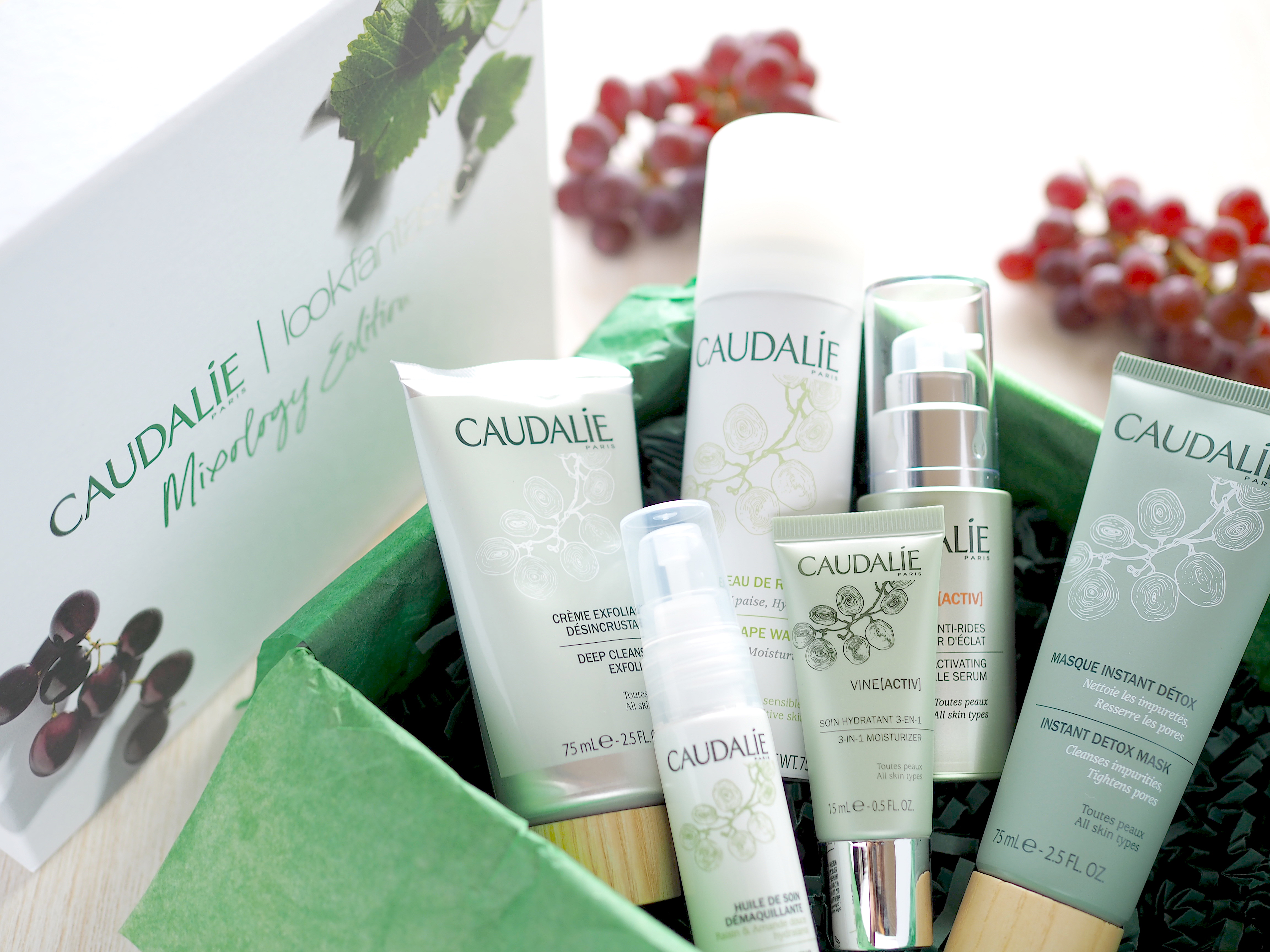 LookfantasticとCaudalieの限定ビューティーボックス