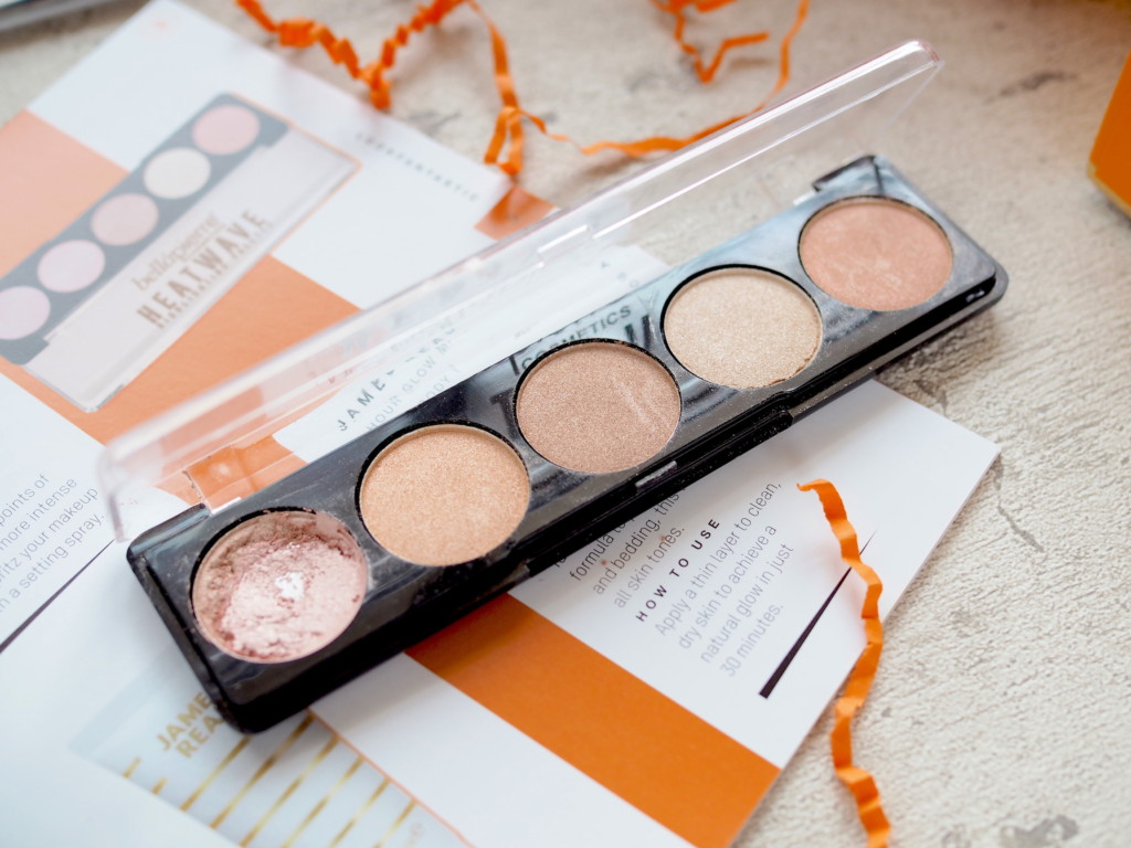 Bellapierre Heatwave Highlighting Palette