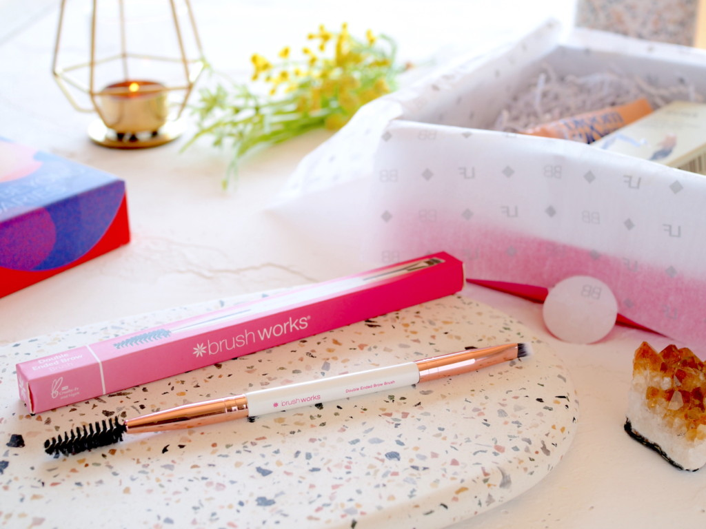 Brushworks Double Ended Brow Brush